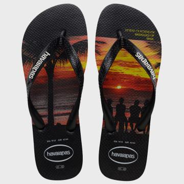 Havaianas - Tongs Hype Noir Sunset