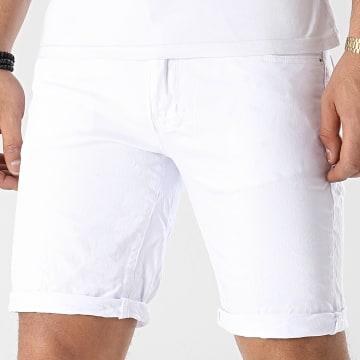 MTX - Short Jean Slim 6671 Blanc