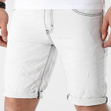 MTX - Short Jean Slim HX6669 Blanc