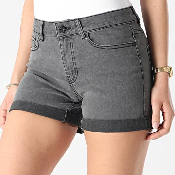 Noisy May - Short Jean Femme Lucy Gris Anthracite
