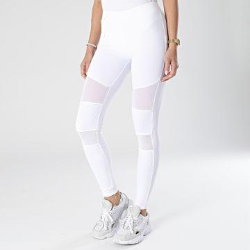 Urban Classics - Leggings Femme TB1174 Blanc