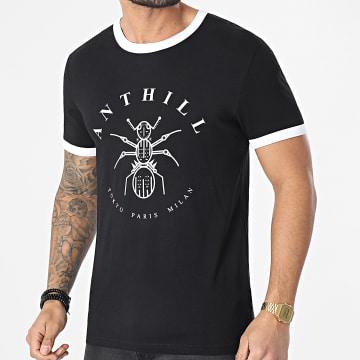 Anthill - Tee Shirt Ringer Logo Noir