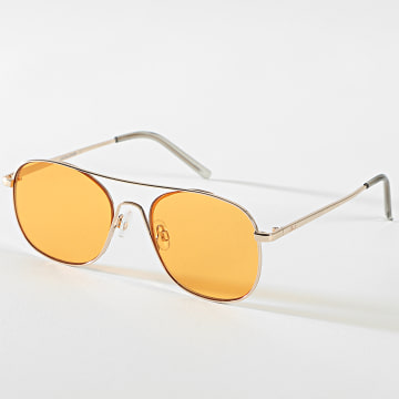 Jack And Jones - Lunettes De Soleil Mark Doré Orange