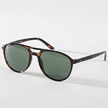 Jack And Jones - Lunettes De Soleil Porter Marron