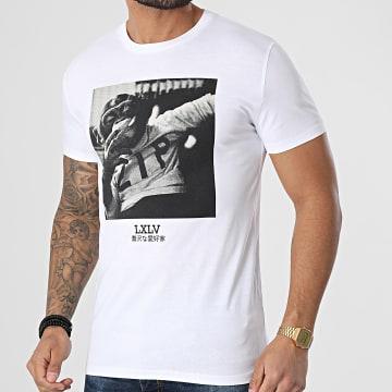 Luxury Lovers - Tee Shirt Chimp Zip Blanc