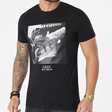 Luxury Lovers - Tee Shirt Chimp Zip Noir