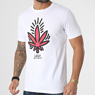 Luxury Lovers - Tee Shirt Keith Weed Blanc