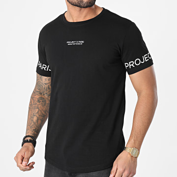 Project X - Tee Shirt Oversize 2110154 Noir