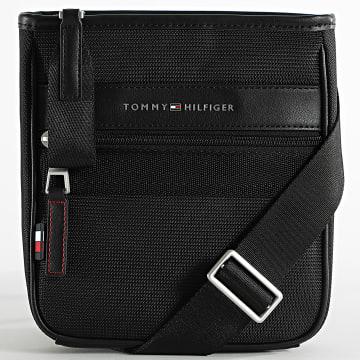 Tommy Hilfiger - Sacoche Elevated Nylon Mini Crossover 7264 Noir