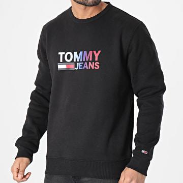 Tommy Hilfiger - Sweat Crewneck Ombre Corp Logo 0202 Noir