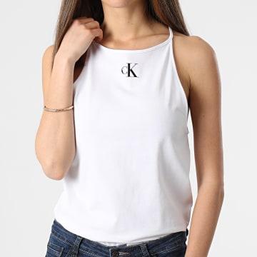 Calvin Klein - Débardeur Femme Micro CK On Camisole 5633 Blanc