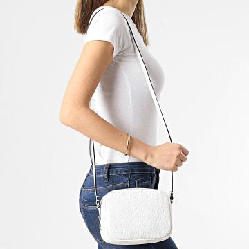 Calvin Klein - Sac A Main Femme Camera Bag AOP 8141 Blanc