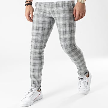 Classic Series - Pantalon A Carreaux M-3314 Gris