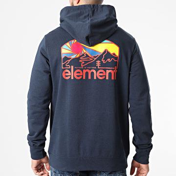 Element - Sweat Capuche Sunnett Bleu Marine