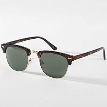 Jack And Jones - Lunettes De Soleil Cryder Doré Marron