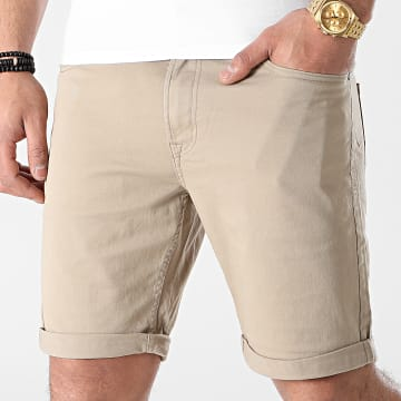 Jack And Jones - Short Jean Rick Beige Sable