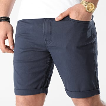 Jack And Jones - Short Jean Rick Bleu Marine