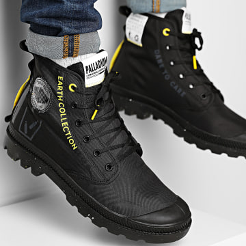 Palladium - Boots Pampa Recycle Metro 77054 Black Black