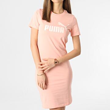 Puma - Robe Tee Shirt Femme 586910 Rose