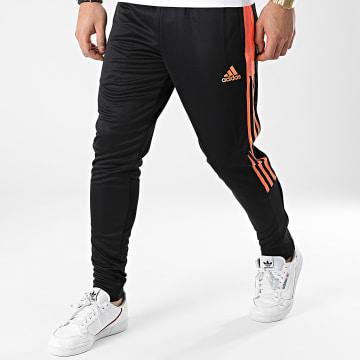 Adidas Performance - Pantalon Jogging A Bandes Tiro GQ1049 Noir