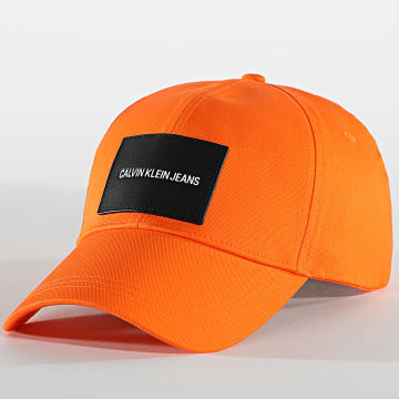 Calvin Klein - Casquette Patch 6572 Orange