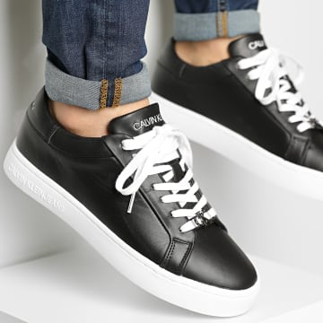 Calvin Klein - Baskets Cuspole Sneaker Lace Up 0084 Black