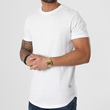 Jack And Jones - Tee Shirt Oversize Noa Blanc