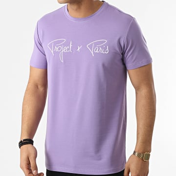 Project X Paris - Tee Shirt 1910076 Violet