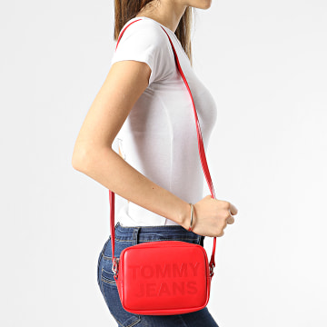 Tommy Jeans - Sac A Main Femme Camera Bag 9853 Rouge