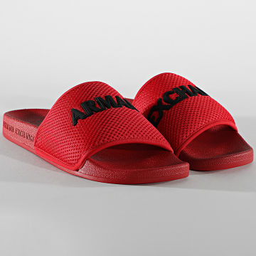 Armani Exchange - Claquettes XUP001-XV087 Rouge