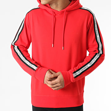 Diesel - Sweat Capuche A Bandes 00CEMD-0TAWI Rouge