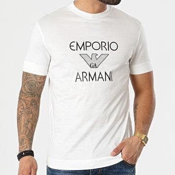 Emporio Armani - Tee Shirt 3K1TAF-1JUVZ Blanc