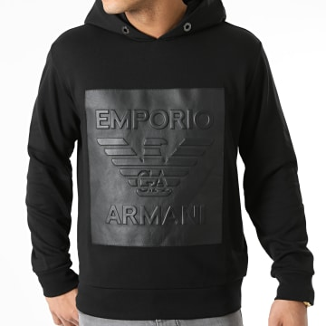 Emporio Armani - Sweat Capuche 3K1MF3-1JTNZ Noir