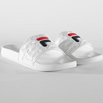 Fila - Claquettes Femme Baywalk Slipper 1011246 White
