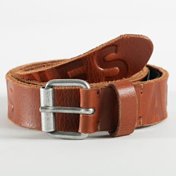 Jack And Jones - Ceinture Porto Logo 12192629 Marron