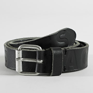 Jack And Jones - Ceinture Porto Logo 12192629 Noir