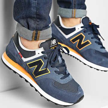 New Balance - Baskets Lifestyle 574 ML574SY2 Navy