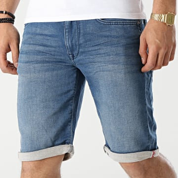 Petrol Industries - Short Jean Slim 003 Bleu Denim