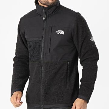 The North Face - Veste Zippée Polaire Black Box Denali A557AJK3 Noir