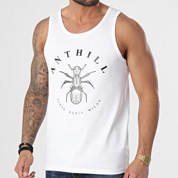 Anthill - Débardeur Logo Blanc Noir