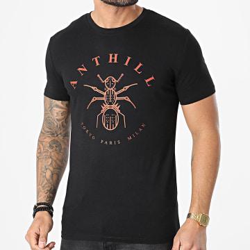 Anthill - Tee Shirt Logo Noir Rouge