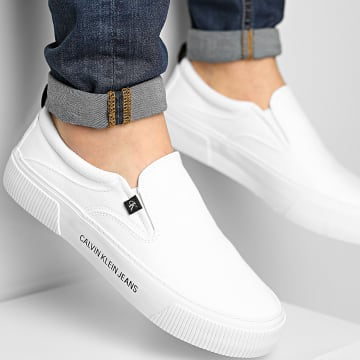 Calvin Klein - Baskets Vulcanized Skate Slip-On 0024 Bright White