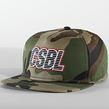Cayler And Sons - Casquette Snapback Bucktown CS1614 Camouflage Vert Kaki