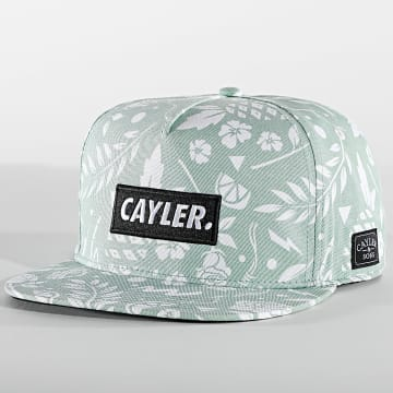 Cayler And Sons - Casquette Snapback Statement CS2380 Vert Floral