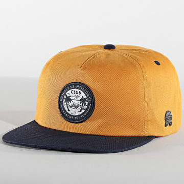 Cayler And Sons - Casquette Snapback Holidays CS2666 Jaune Bleu Marine