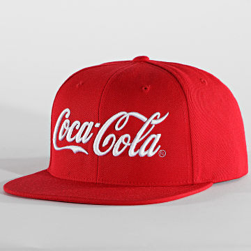 Coca-Cola - Casquette Snapback Logo MC071 Rouge