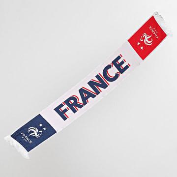 FFF - Echarpe France F20071 Rouge Blanc