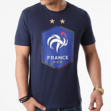 FFF - Tee Shirt F20079 Bleu Marine