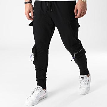 Ikao - Pantalon Jogging LL371 Noir