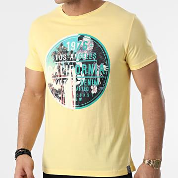 La Maison Blaggio - Tee Shirt Miami Jaune